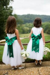 wedding photo - Flower Girls And Ring Bearers