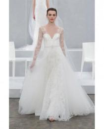 Long Sleeved   3 4 Length Sleeve Wedding Gown Inspiration c2d165507