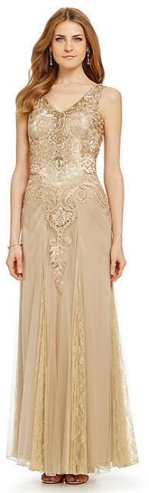 wedding photo - Sue Wong Embroidered Beaded Gown
