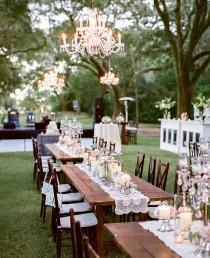 wedding photo - 21 Reception Photos That Will Have You Dreaming Of An Outdoor Wedding