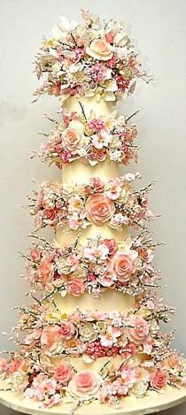wedding photo - Cakes Beautiful Cakes For The Occasions