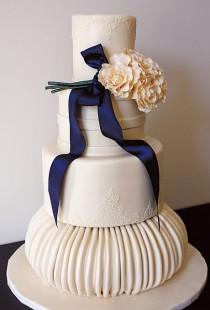wedding photo - Outstanding Wedding Cake Designs