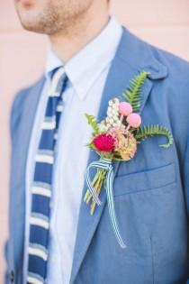 wedding photo - Personalized Style Details For The Groom