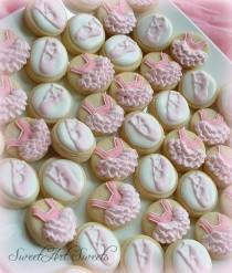 wedding photo - Ballet MINI Cookies - 2 Dozen
