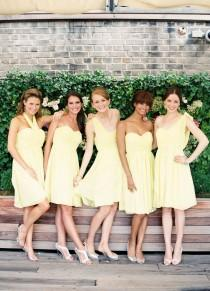wedding photo - Tips From The Pros: How To Pull Off Mismatched Bridesmaids With Weddington Way