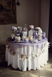wedding photo - 25 Adorable Candy Bar Ideas For Your Wedding