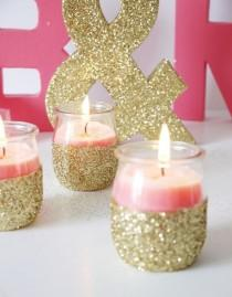 wedding photo - 39 Colorful Glitter DIYs To Add Sparkle To Your Life