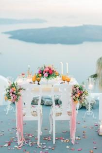 wedding photo - Sweetheart Table Decor