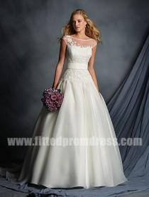 wedding photo - Alfred Angelo 2518 Self Tying Sash Wedding Gowns