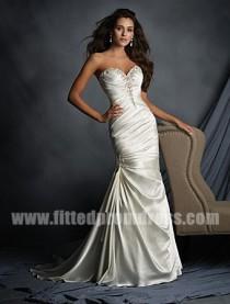 wedding photo - Alfred Angelo 2520 Sweetheart Neckline Wedding Gowns