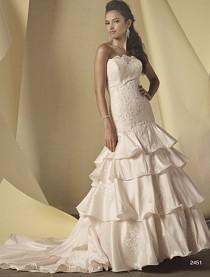 wedding photo - Wedding dress 2015 Alfred Angelo Style 2451