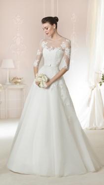 wedding photo - Wedding Dress 2015 white one Style DAGNIR