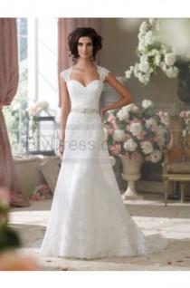 wedding photo - David Tutera For Mon Cheri 214204-Flo Wedding Dress