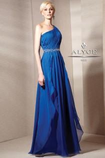 wedding photo - Unique Beaded Jean De Lys By Alyce Paris Dress 29585