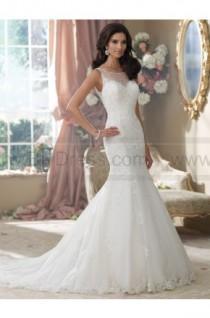 wedding photo - David Tutera For Mon Cheri 214207-Aly Wedding Dress