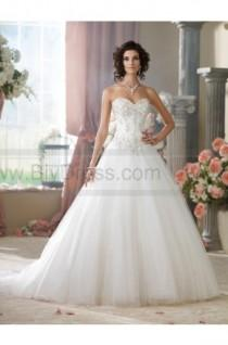 wedding photo - David Tutera For Mon Cheri 214209-McKayla Wedding Dress