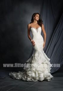 wedding photo - Alfred Angelo 2527 Organza Wedding Gowns