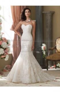 wedding photo - David Tutera For Mon Cheri 214211-Sanya Wedding Dress