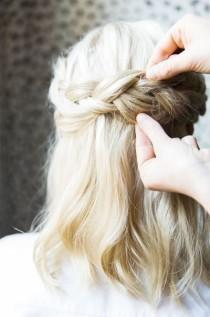 wedding photo - How To: Dutch Braid Crown