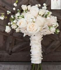 wedding photo - 16 Beautiful Bridal Bouquet Wraps To Buy   DIY