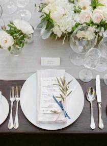 wedding photo - Elegant Navy And Grey Summer Wedding
