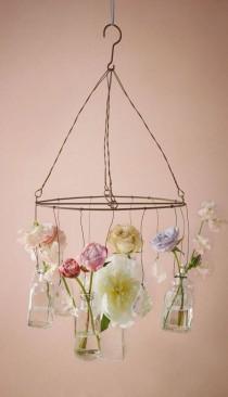wedding photo - Crystalline Chandelier