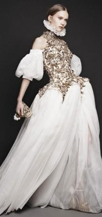wedding photo - Alexander McQueen A/W '13 Look Book