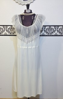 65d1e6185d30c 1940 s Ivory   Lace Bridal Slip Dress by Miss Swank Nystrom