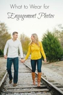 wedding photo - Engagements