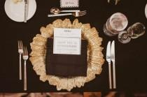 wedding photo - Black And White Wedding At Riviera Palm Springs