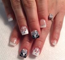 wedding photo - Day 181: Bride & Groom Nail Art