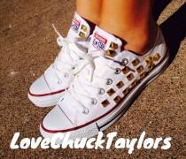 1a43b815ea7 Studded Converse Chuck Taylor All Stars Shoes
