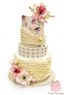 wedding photo - Best North Jersey Wedding Cakes