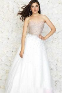 wedding photo - Tulle Long Sweetheart A-line White