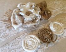 Garter Wedding Rustic Ivory Lace Bridal Belt Barn