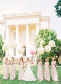 wedding photo - Bridesmaids Photos And Ideas - Style Me Pretty Weddings - Page - 8