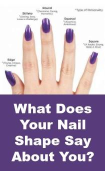 wedding photo - What Does Your Nail Shape Say About You?