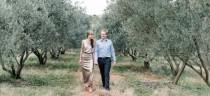 wedding photo - Glamorous Olive Grove Engagement by Louise Vorster