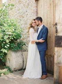 wedding photo - Rustic Villa Real Wedding in Barcelona - Wedding Sparrow
