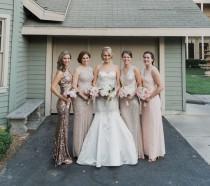 wedding photo - Creative Wedding on the CBS Backlot: Lauren + Andy