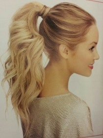 wedding photo - 10 Cute Ponytail Ideas: Summer And Fall Hairstyles For Long Hair