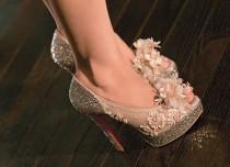 wedding photo - Dubai Fashionista: Louboutin Burlesque Shoes