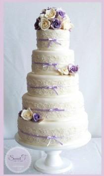 wedding photo - Lilac Ad Ivory Soft Romance