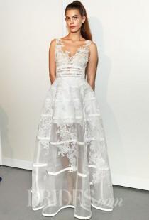 wedding photo - Gemy Maalouf Wedding Dresses - Fall 2015 - Bridal Runway Shows - Brides.com