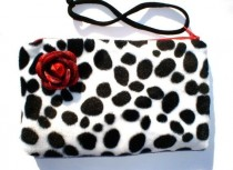 wedding photo - Rockabilly Small Purse Pinup Purse / Great Brides Maid Gift