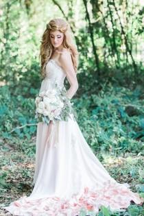 wedding photo - Blush Woodland Fairy Inspiration Shoot