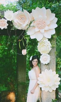 wedding photo - Simply Chic Wedding Flower Decor Ideas