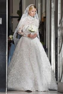wedding photo - Nicky Hilton's Valentino Wedding Dress Is Absolutely Stunning