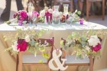 wedding photo - 20 Gorgeous Sweetheart Tables