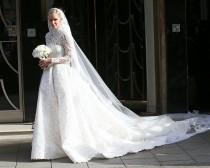 wedding photo - Nicky Hilton Marries James Rothschild In Valentino Gown